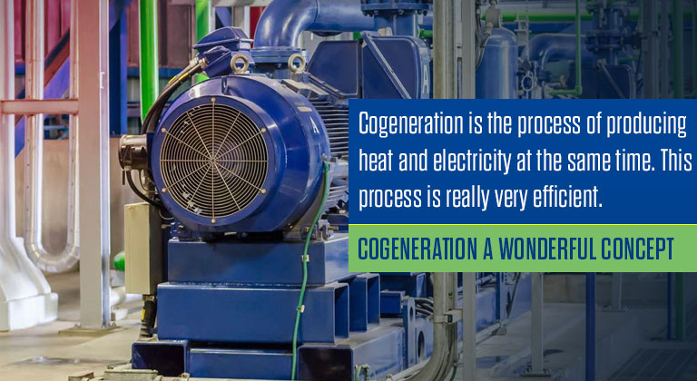 Cogeneration a Wonderful Concept