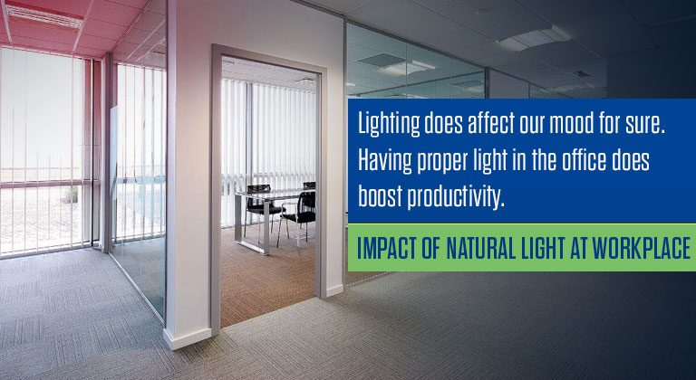 Impact of Natural Light at Workplace