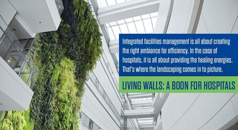 Living Walls: A boon for Hospitals