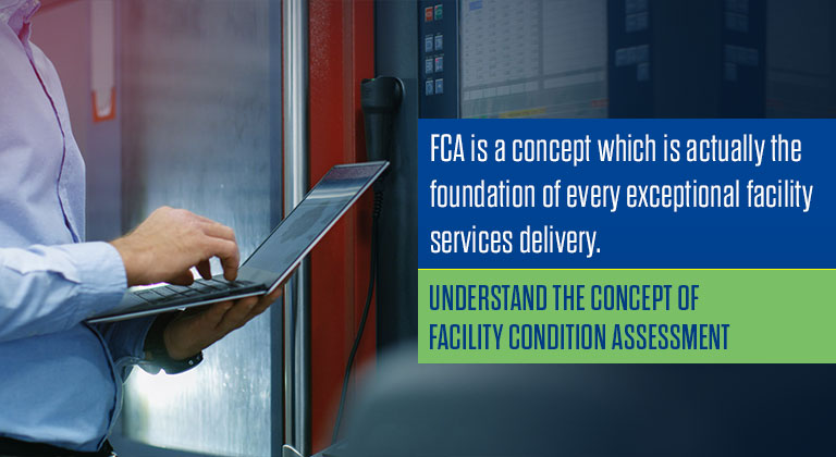 Understand the concept of Facility Condition Assessment