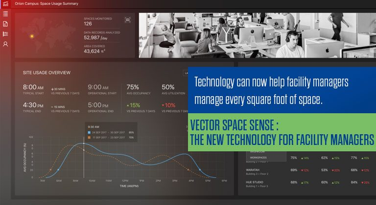 Vector Space Sense : The new technology for Facility Managers
