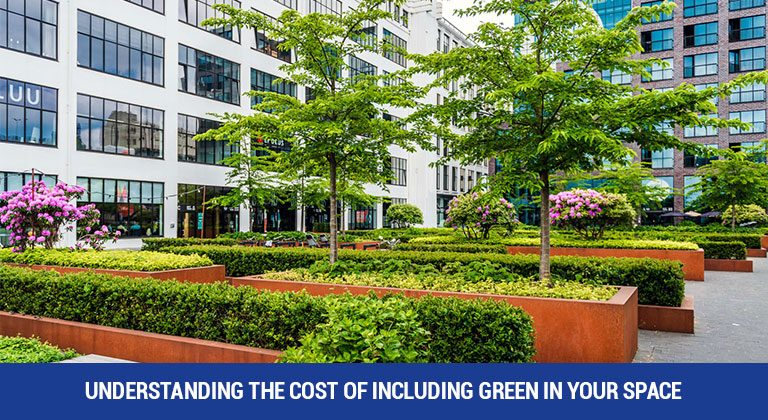 Understanding the cost of including green in your space
